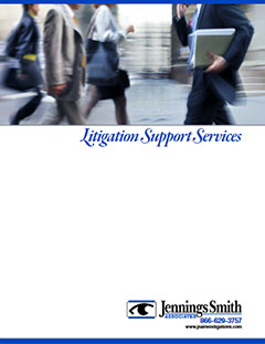 Click here to download the Litigation Support Services Brochure.